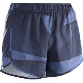 Salomon Agile Shorts Women night sky/graphite/crown blue